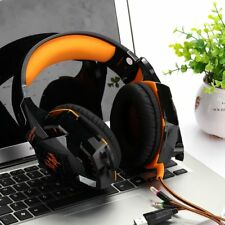 Stereo Bass Noise Canceling Gaming Headset w/ Mic For PC Computer Phone