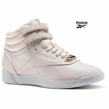 Reebok Classics Freestyle Hi Muted Casual Sneakers Shoes Pink CN1495 SZ 4-12.5