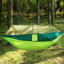 Hammock Outdoor Camping Bed Hanging Mosquito Person Travel Double Portable Tent