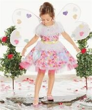 Chasing Fireflies Candy Heart Fairy Costume Dress w/ Wings Halloween RETIRED NEW