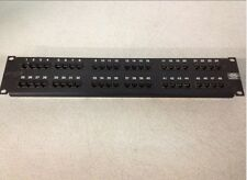 Hubbell CAT5e MCC5806110A19 48-Port Patch Panel