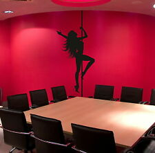 Pole Dancing - Large Vinyl Transfer / Giant Removable Wall Stickers NE113