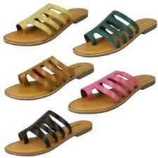Leather Collection Ladies Casual Strappy Sandals