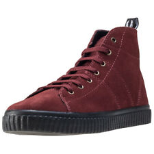 Fred Perry Ellesmere Mid Womens Wine Suede Boots