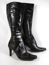 Nine West Knee High Boot Women size 6 Brown Leather