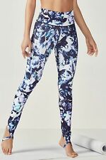 NWT Fabletics Jazz High Waisted Stirrup Legging in Monarch Print Choose Size