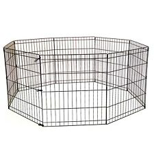TALL DOG PLAYPEN CRATE FENCE PET PLAY PEN EXERCISE CAGE