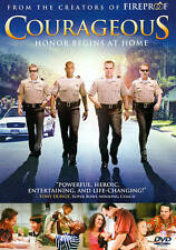 Courageous DVD, 2012 Honor Begins at Home Widescreen