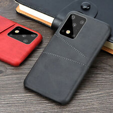 For Samsung Galaxy Note 9 10+ S10 S8 S9 Plus Leather Wallet Card Slot Case Cover
