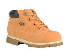 Lugz Boy Drifter Lined Lace Up Work Boot Wheat Brown Size 13 / 3 / 6 / 7 Big Kid