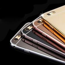 Luxury Mirror Aluminum Metal Frame Case For iPhone 6 6S
