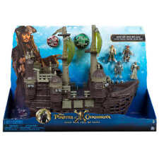 Disney Pirates Of The Caribbean Silent Mary Ghost Ship Playset. Inc Jack Sparrow