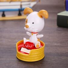 Dancing Toy Car Decor Solar Powered Gadget Swing Animated Doll Ornament Gift