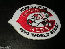 CINCINNATI REDS 1990 world series patch  NASTY BOYS ERA