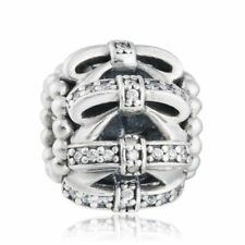 authentic 925 sterling silver Charm Bead Pave CZ Openwork Bowknot genuine charms