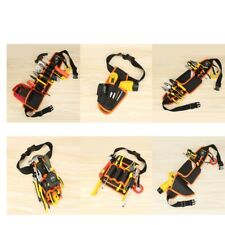 6 Electrical Tool Bag Waist Hanging Belt Holder Electrician Carpenter Framer