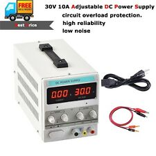 300W Adjustable DC Power Supply Variable Linear Dual Digital Precision Lab Test