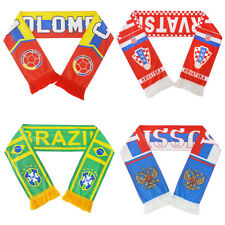 High Quality Russia World Cup Football 12 Fans Scarf National Soccer Team