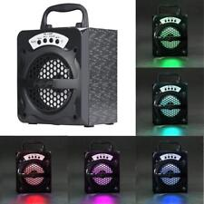 Portable BT Wireless Stereo Speaker Super Bass with USB/TF/AUX/FM Radio