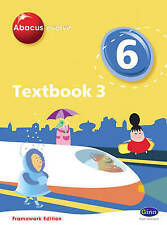 Abacus Evolve Framework Edition Year 6/P7 Textbook 3 by Pearson Education Limite