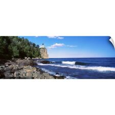 Wall Decal entitled Lighthouse on a cliff, Split Rock Lighthouse, Lake Superior,