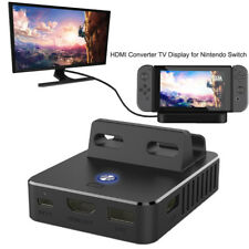 Mini Cooling Charging Dock Base HDMI Converter TV Display for Nintendo Switch
