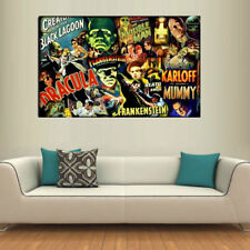 Universal Monsters,Oil Painting HD Print On Canvas Modern Decoration Wall Art