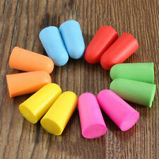 50Pairs Soft Foam Ear Plugs Tapered Travel Sleep Noise Prevention Earplugs  Ts