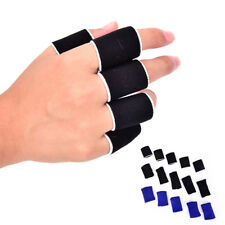 10x Breathable Stretchy Finger Protector Sleeve bandage Support Arthritis FBB