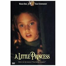 NEW A Little Princess DVD 1997 WARNER BROTHERS AUTHOR THE SECRET GARDEN SEALED