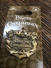 Pirates of the Caribbean Anchor with Mermaids Plaque Disney Pin 108728