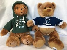 Dallas Cowboys or NY Jets Plush Bear 'Good Stuff' Brand NFL Officially Licensed