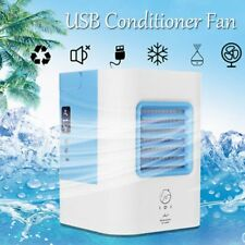 Portable Mini Air Conditioner  Air Cooler Fan Humidifier Cooler USB Charging SM