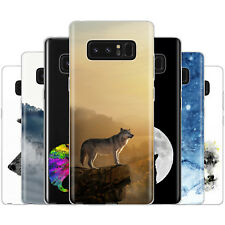 Dessana Wolf Wolves TPU Silicone Protection Cover Case Pouch Cover for Samsung