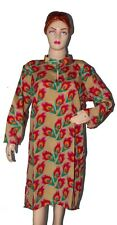 Handmade Art Silk Indian Women Girl's Multi Peacock kurta Kurtis Loose Fit S 7XL