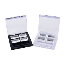 Empty4 Square Grid Eyeshadow Lipstick Powder Box Case Cosmetic Packing+PaletteFD