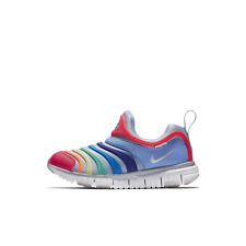 New Nike Dynamo Free PS Multi Color Preschool Kids Shoes Sneakers Size 11C ~ 3Y
