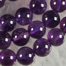 AAA+ 10mm Natural Russican Amethyst Gemstones Round Loose Beads 15''