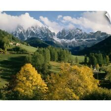 Wall Decal entitled The Dolomites South Tirol Italy