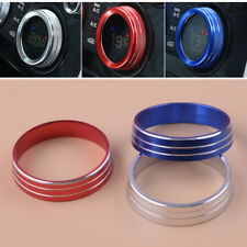 A/C Heater Climate Control Buttons Knobs Cover Trim Ring For Lancer Outlander