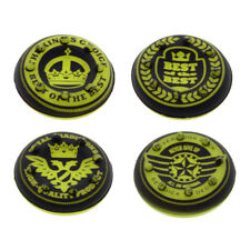 4Pcs Crown Silicone Thumb Stick Grips Cap Cover Set for PS4 Xbox One Controller