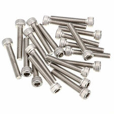 M6/6mm Hex Hexagon Socket Screws Allen Cap BOLTS SS Stainless Steel A2