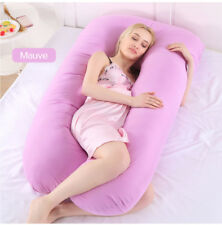 U-Shaped Full Body Pillow, Shaped Pregnancy Pillow & Maternity Support