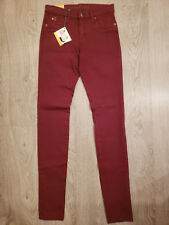 Women's Second Yoga Jeans - High Rise Skinny - Merlot - 25, 28 & 34 - SWP1197