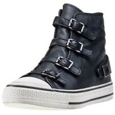 Ash Virgin Womens Black Leather Trainers