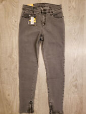 Women's Second Yoga Jeans - High Rise Skinny - Gray - SWP1444 - Multiple Sizes