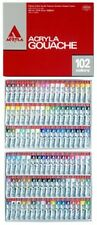 Holbein Acryla Gouache 36,102 colors set Express shipping, Tracking number, W...