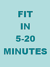 Fit In 5-20 Minutes - Bum And Tum Attack (DVD, 2011)