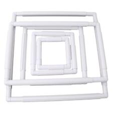 Embroidery Frame Cross Stitch Hoop Stand Lap Tool Square Rectangle Clip shan