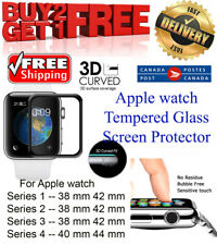 Apple Watch Tempered Glass 3D Screen Protector Buy 2 Get 1 Free -- Free Shipping